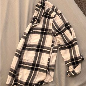 Abercrombie Flannel plaid long sleeve